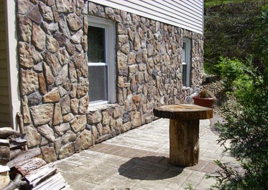 Купить декоративный камень для отделки фасада